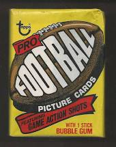 1977 Topps Football Single Wax Pack for Sale