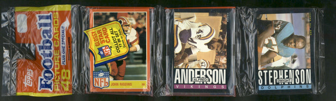 1985 Topps Football for Sale - Single Rack Pack Break