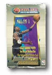 1994 Topps Finest Basketball Series 1 Single Pack from a Hobby Box Break