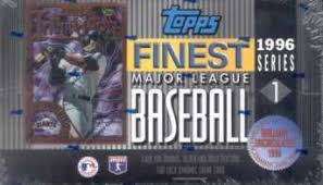 1996 Topps Finest Baseball Series 1 Single Pack from a Hobby Box Break