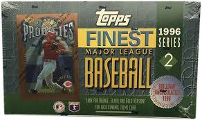 1996 Topps Finest Series 2 Baseball Hobby Box - Single Pack for Sale