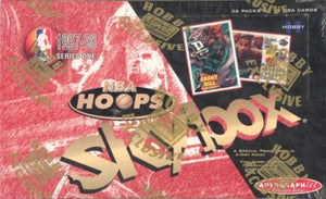 1997-98 Skybox NBA Hoops Series 1 Single Pack of Cards for Sale from a Hobby Box Break