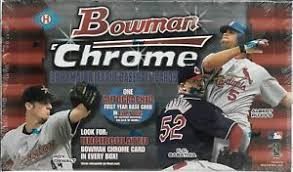 2002 Bowman Chrome Baseball Single Pack from a Hobby Box Break