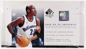 2002 Upper Deck SP Authentic Basketball Single Pack from a Hobby Box Break