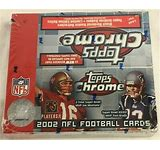 2002 Topps Chrome Football Single Pack from a Retail Box Break