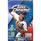 2010 Topps Chrome Baseball Single Pack from a Hobby Box Break