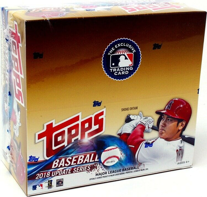 2018 Topps Update Series Baseball - Single Pack for Sale from a Box Break
