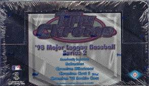 1998 Topps Chrome Series 2 Baseball Hobby Box Break - Single Pack for Sale