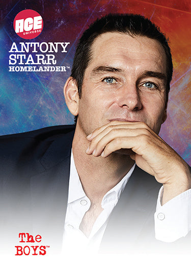 2020 The Boys Antony Starr/Homelander Signed ACE Exclusive Trading Card Limited to 100
