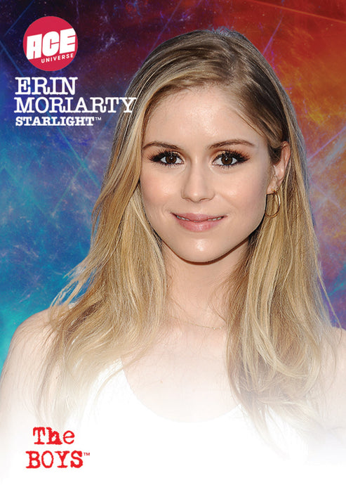 2020 The Boys Erin Moriarty/Starlight Signed ACE Exclusive Trading Card Limited to 100