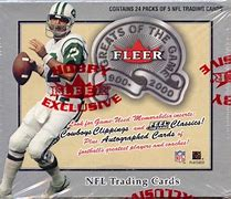 2000 Fleer Greats of the Game Football Single Pack from Hobby Box Break