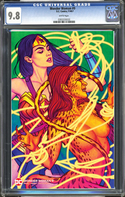 Wonder Woman #9 (1987) ACE Comic Con Exclusive Fluorescent Cover CGC 9.8