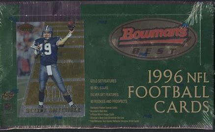 1996 Bowman's Best Football Single Pack from a Hobby Box Break