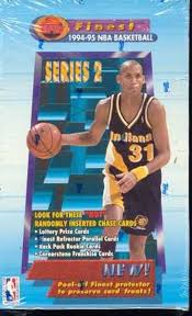 1994-95 Topps Finest Basketball Series 2 Single Pack from a Hobby Box Break