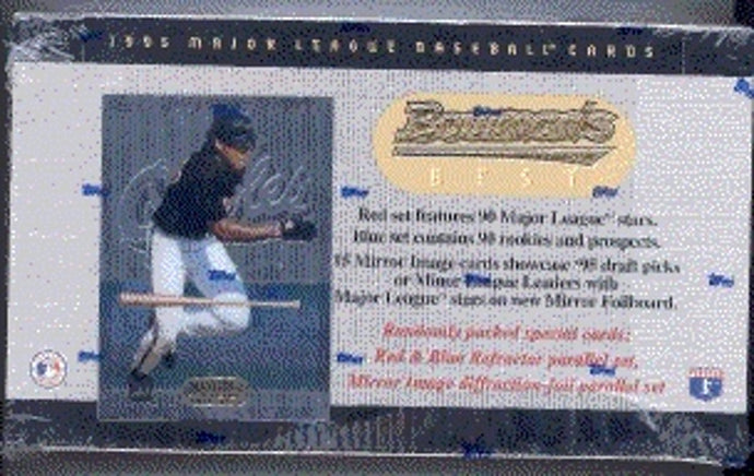 1995 Bowman's Best Baseball Packs for Sale - purchase a Single Pack from a Hobby Box Break