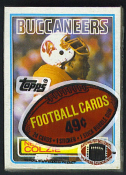 1983 Topps Football Single Cello Pack Break (one random cello pack per spot purchased!)
