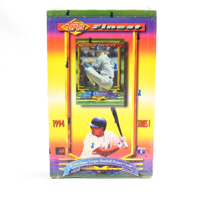 1994 Topps Finest Baseball Cards Series 2 for sale - Purchase Single Topps Finest Pack from a Hobby Box Break