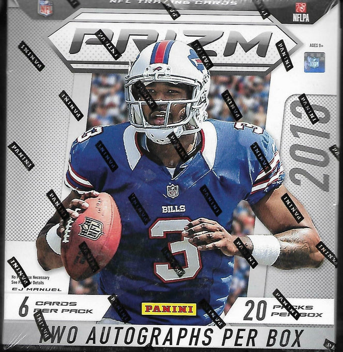 2013 Panini Prizm Football - Single Pack for Sale