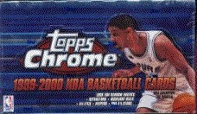 1999 Topps Chrome Basketball Single Pack from a Hobby Box Break