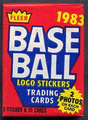 1983 Fleer Baseball Single Pack Break