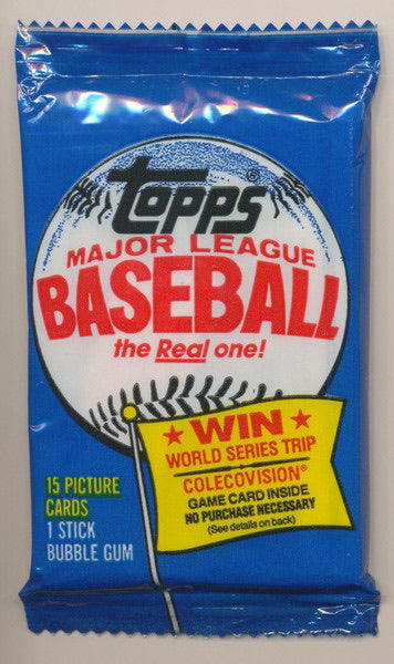 1983 Topps Baseball 'Michigan Test' - Single Pack for Sale