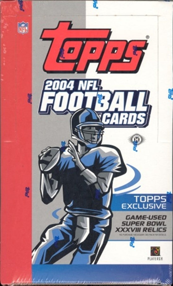 2004 Topps Football Single Pack from a Hobby Box Break