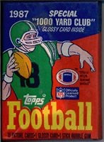 Load image into Gallery viewer, 1980s Topps Football Decade Pack Mixer (1980-1989 One Pack From Each Year)