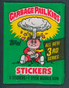 1986 Topps Garbage Pail Kids Series 3 Single Pack Break