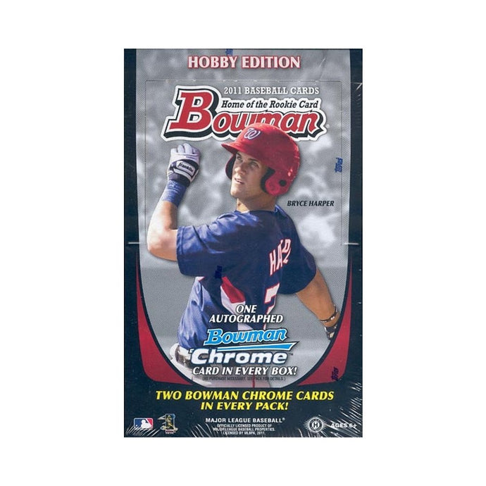 2011 Bowman Baseball Single Pack for Sale from a Hobby Box Break
