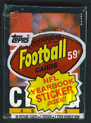 1985 Topps Football - Single Cello Pack for Sale
