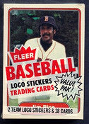 1982 Fleer Baseball Single Cello Pack Break (one random pack per spot purchased)