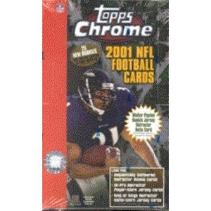 2001 Topps Chrome Football Single Pack for Sale from Hobby Box Break