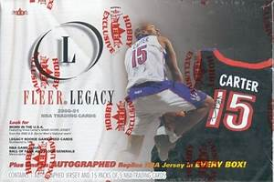 2000 Fleer Legacy Basketball Single Pack from a Hobby Box Break