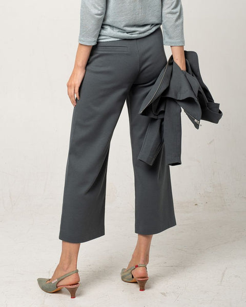 Organic Jersey Culotte Thyme