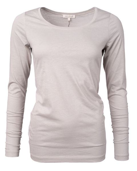 Long Sleeve Pure Shirt Breeze