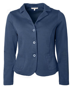 Cotton Blazer Navy