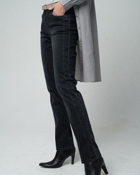 Slim Stretch Jeans Anthracite