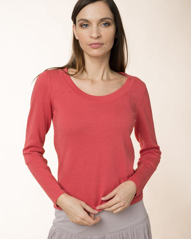 Cotwol Sweater Cranberry