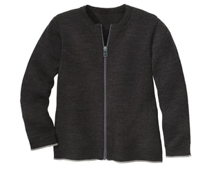 Disana Zip Cardigan Anthracite