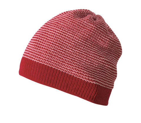 Disana Merino Beanie Bordeaux-Rose