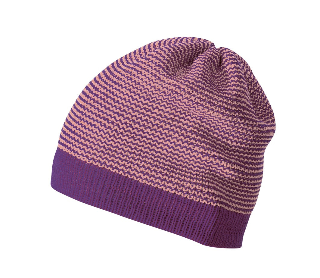 Disana Kid's Merino Beanie Plum/Rose