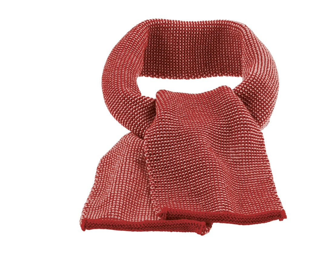 Disana Melange Merino Child's Scarf Bordeaux-Rose