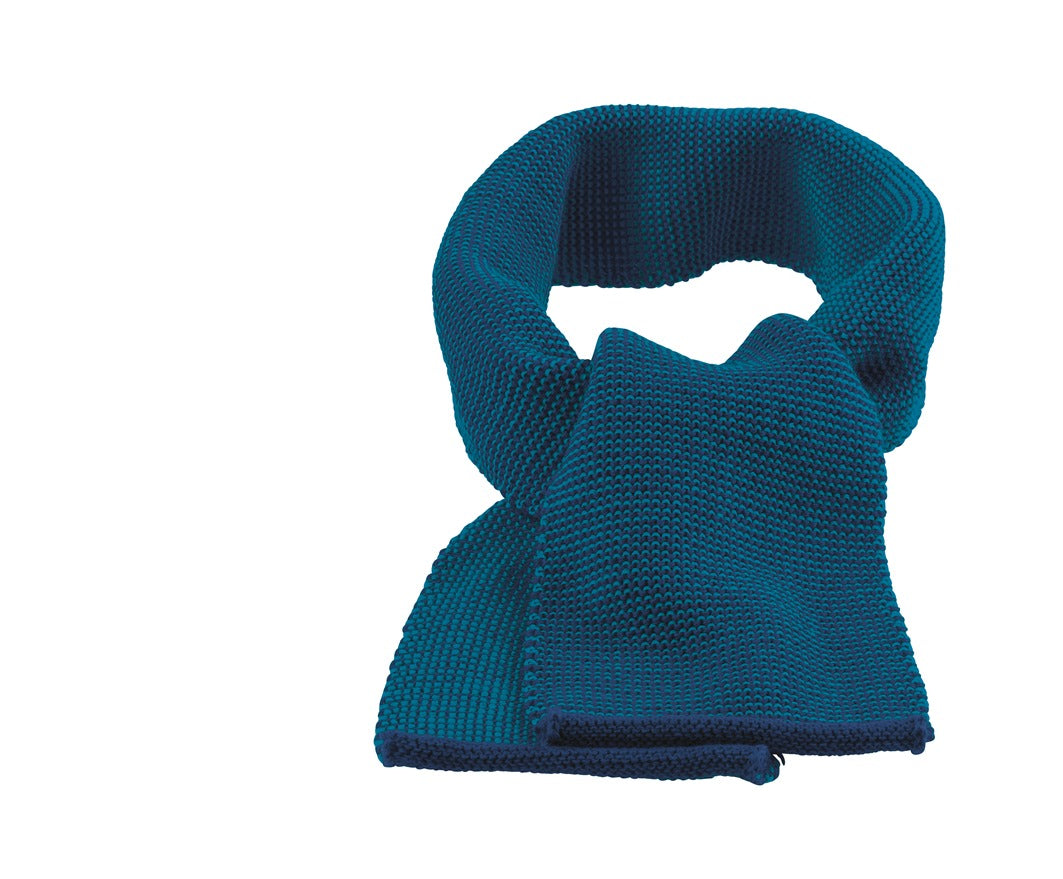Disana Melange Merino Child's Scarf Navy-Blue