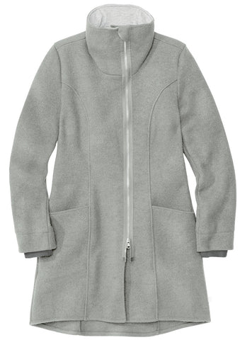 Disana Women's Organic Merino Coat Grey
