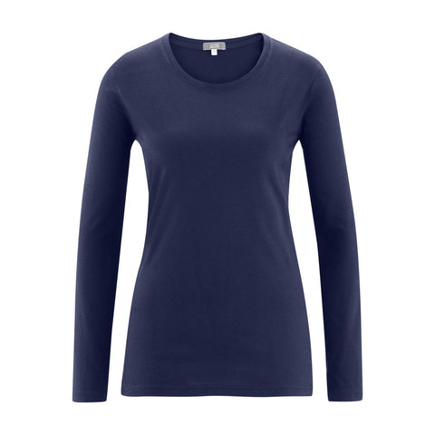 Fiona Long Sleeve Shirt Navy