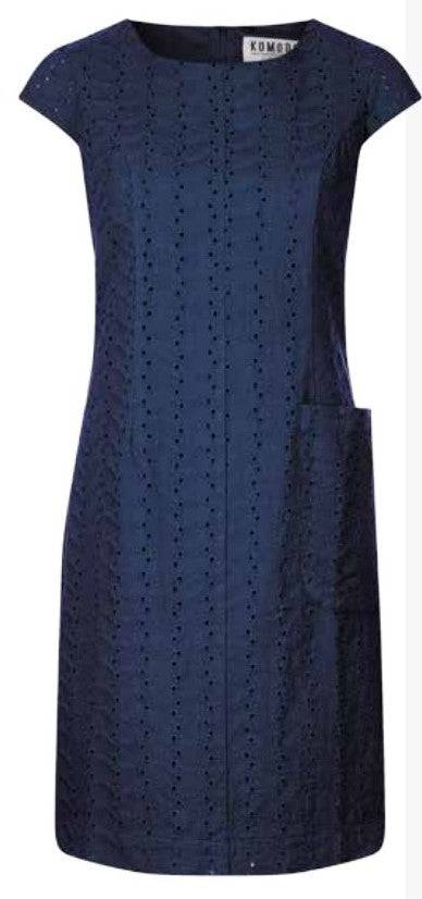 Fire Dance Dress Navy