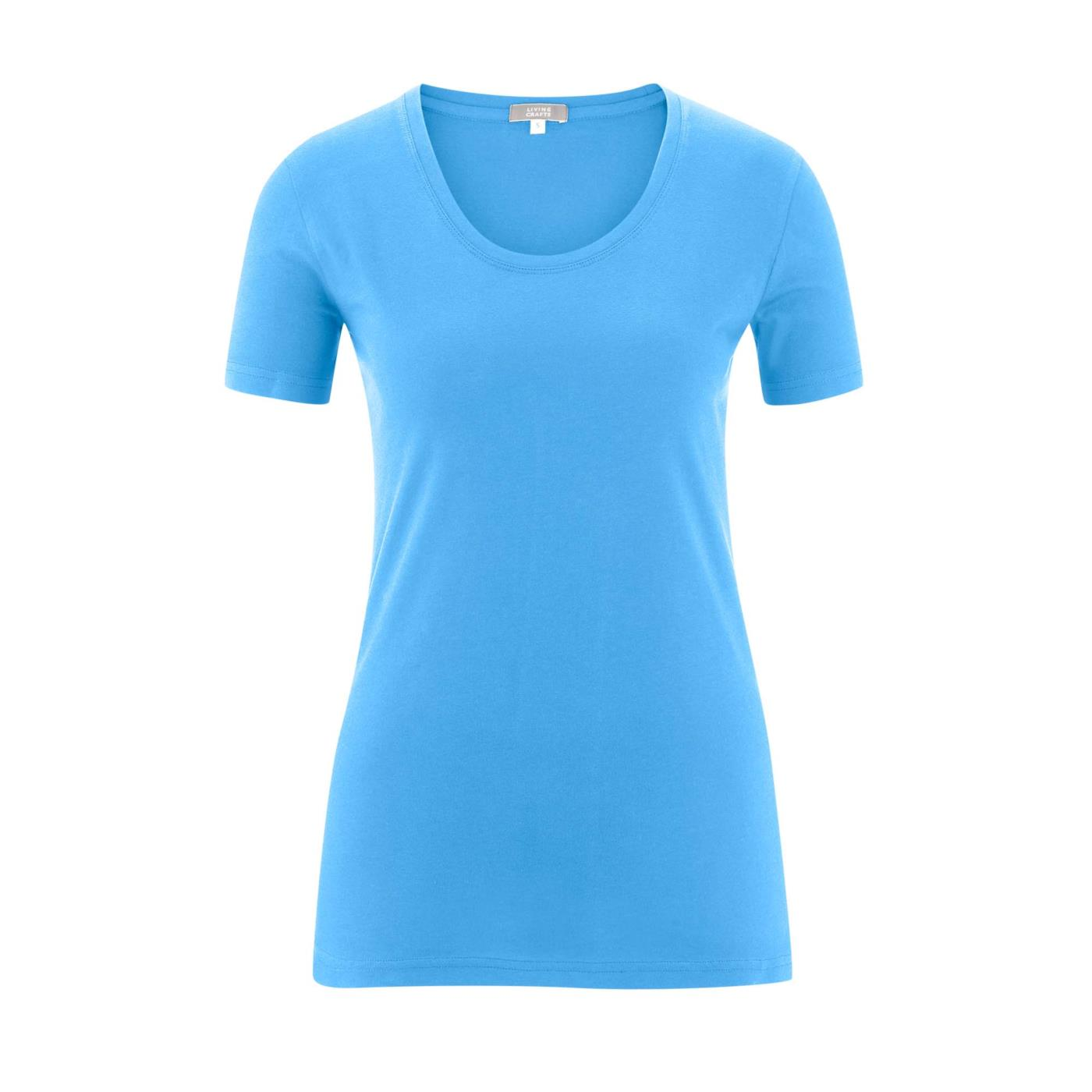 Frieda T-Shirt Azur Blue