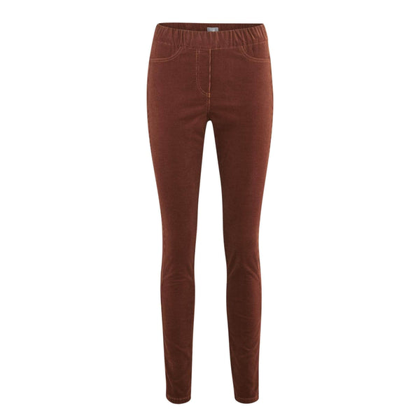 Corduroy Stretch Trousers Petrol