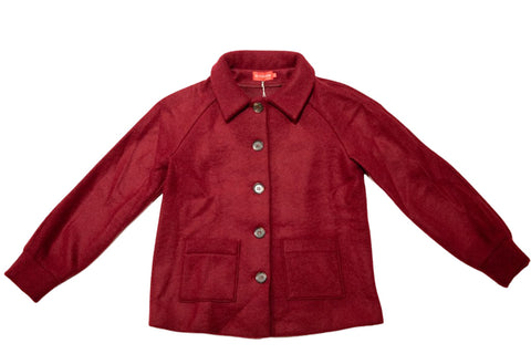 Winter Jacket Sylvie Dark Red