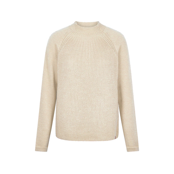 Katty Merino Sweater Warm Sand